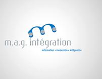 Logo, M.A.G. Intégration