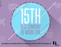 15th Best Company Banner