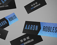 Aaron Robles Business Cards