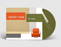 VINCENT'S CHAIR - It's Time, CD packaging