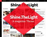 Shine.TheLight Magazine and Blog Theme