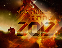 Wallpaper - Happy New Year 2012