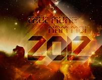 Wallpaper - Happy New Year 2012