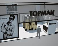 TOPMAN Exhibition Booth