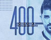 MLS - David Villa 400 Goals Social Sizes