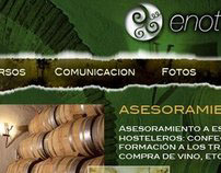 Web Design (Enot Program Website)