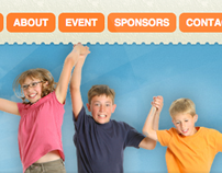 Kids Day Out Web Design