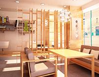 Cafe Concept Deisgn