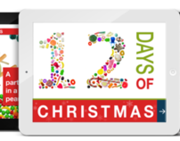 12 Days of Christmas Candy Interactive Book / App