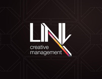 Link Creative Management - Corporate Identity: Logo