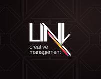 Link Creative Management - Corporate Identity: Logo