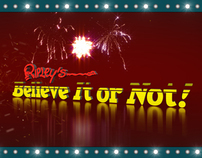 Ripley's Hollywood - Motion Graphic Digital Signage