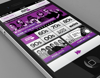 Absolute Radio Player iOS app V6