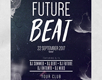 Future Beat - Freebie PSD Flyers Templates