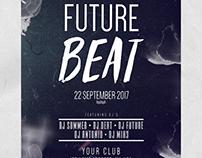 Future Beat - Freebie PSD Flyers Templates