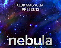 Nebula Abstract Party Flyer Set