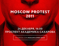Moscow Protest 2011 / Posters Set