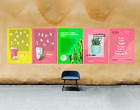 Cafe Cactus Branding