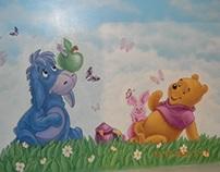 Mural in the Children's room