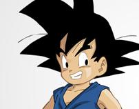 Goku Poster Art