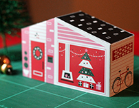 Xmas Paper House