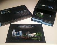 Business card oitentaecinco