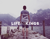 Life as Kings Logo Design