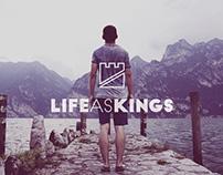 Life as Kings Logo Design
