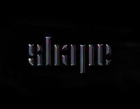 SHAPE - FREE NEO FUTURISM TYPEFACE