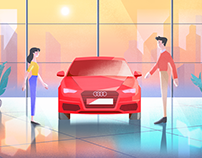 Audi RV program animation