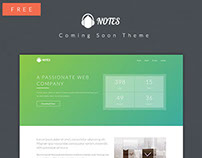 Notes- Coming Soon Theme