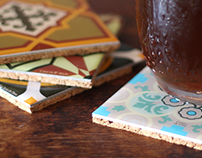 PisoVaso - Coaster Tiles