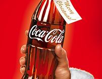 Coca Cola Christmas Poster