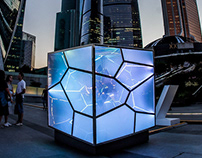 Cubed / Uncubed for Lexus Hybrid Art.