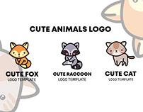 Cute Animals Free Logo