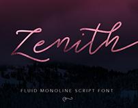 Zenith Monoline Script Font
