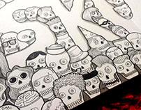 Skulls Typography