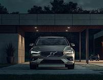 Volvo V60 - Full CGI