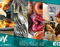 Branding / Client: Wellington West BIA