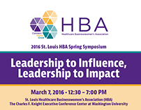 HBA Conference Program - March 2106