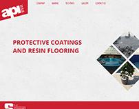 API USA Website Design and Development