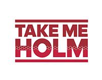 MUFC Take Me Holm winners t-shirt
