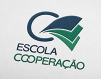 Logotipo Escola Cooperação