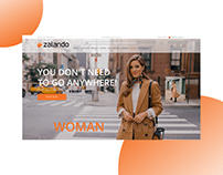 ZALANDO - redesign of an online store of branded items