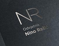 Nino Rašić odvjetnik vizualni identitet