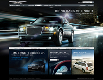 Chrysler: Site Design
