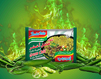 Launch indomie green chili