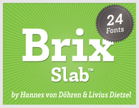Brix Slab (Typefamily)