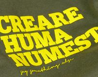creare humanum est t-shirt