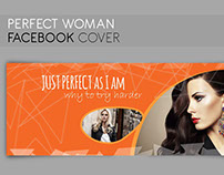 FACEBOOK COVER perfect woman